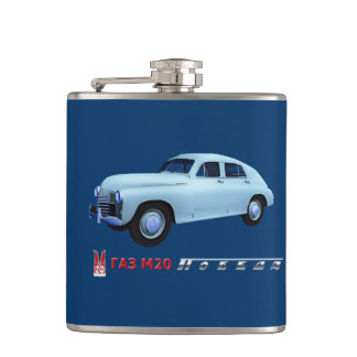 Russian GAZ M20 Sedan Hip Flask