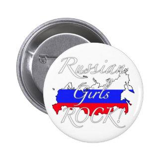 Russian Girls Rock! 2 Inch Round Button