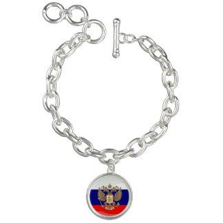 Russian glossy flag bracelet