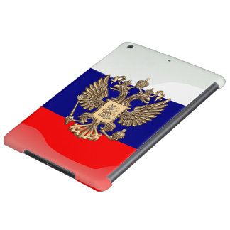 Russian glossy flag cover for iPad air