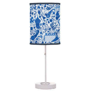 Russian Gzel Pattern Table Lamp