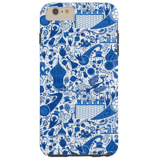Russian Gzel Pattern Tough iPhone 6 Plus Case