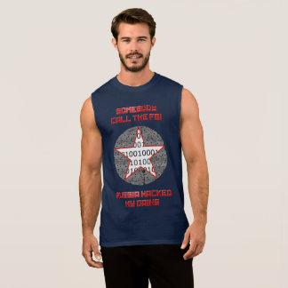 Russian Hackers Sleeveless Shirt