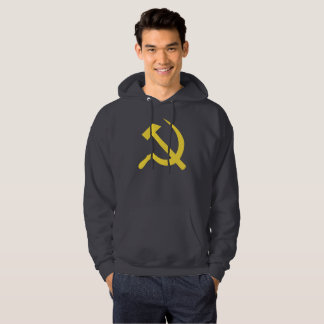 Russian Hammer and Sickle Hooded Sweatshirt