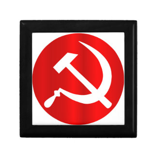 Russian Hammer and Sickle Jewelry Boxes