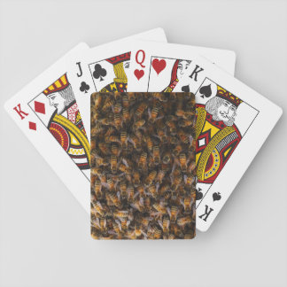 Russian honey bees (Apis mellifera) Playing Cards