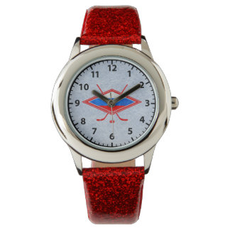 Russian Ice Hockey Logo Watch