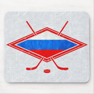 Russian Ice Hockey Mousemat Mouse Pad