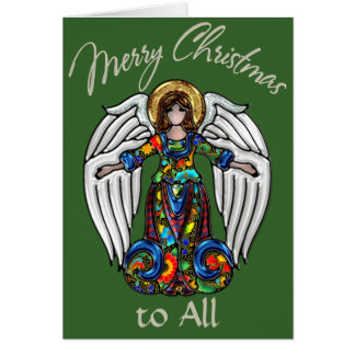 Russian Icon Guardian Angel Card