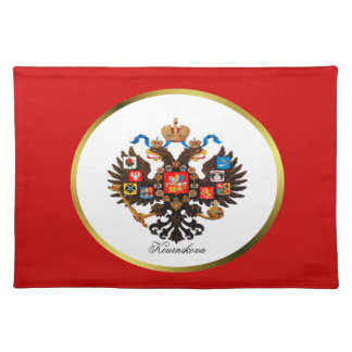 Russian Imperial Eagle Custom Name Placemat