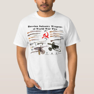 Russian Infantry Weapons of WW2 T-Shirt