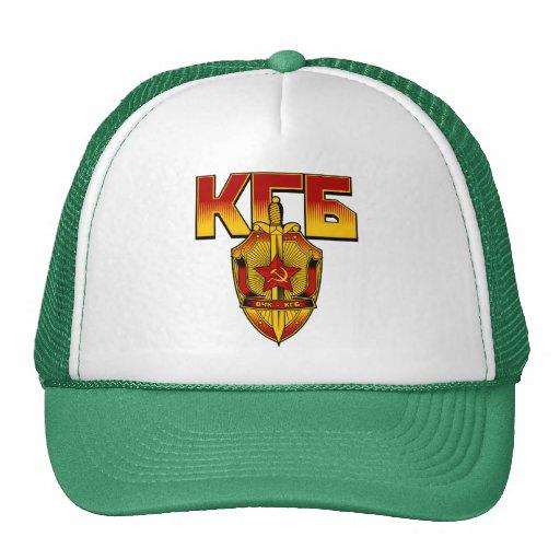 Russian KGB Badge Soviet Era Mesh Hat