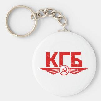 Russian KGB Emblem Keychain