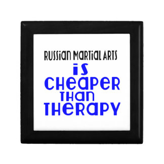 Russian Martial Arts Is Cheaper  Than Therapy Keepsake Boxes