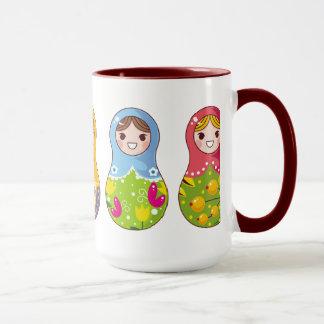 Russian Matrioshka (Matreshka) Mug