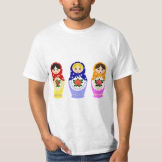Russian matryoshka dolls man T-Shirt