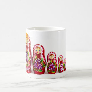 Russian Matryoshkan Nesting Dolls/Icons Coffee Mug