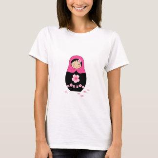 Russian nesting Doll Pink Matryoshka Babushka T-Shirt