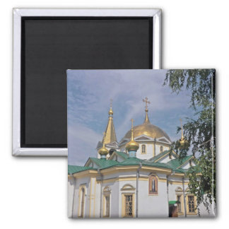 Russian orthodox church in Russia Magnet