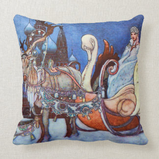 Russian Princess Charles Robinson Illustration Throw Pillow