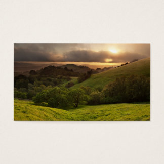 Russian Ridge on Easter Sunday Business Card