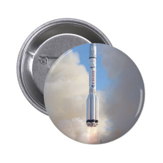 Russian Space Program Proton launch THOR 5 2 Inch Round Button