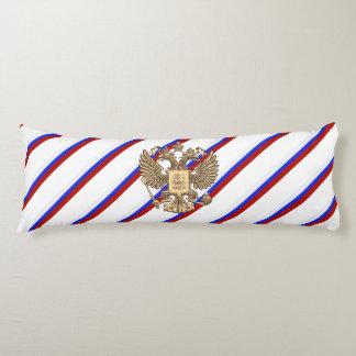 Russian stripes flag body pillow