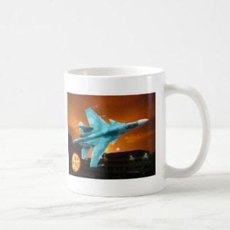 RUSSIAN SUKOI-30 MUG