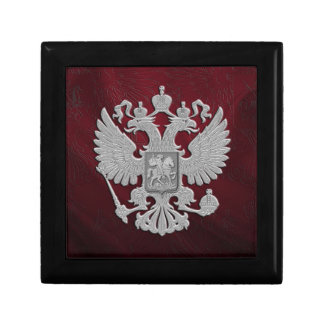 Russian symbol flag red trinket boxes