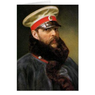 Russian Tsar Alexander II Card