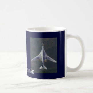 "RUSSIAN TU-160 ""BLACKJACK"" CLASSIC WHITE COFFEE MUG"
