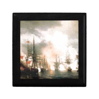 Russian-Turkish Sea Battle of Sinop Trinket Boxes