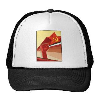 Russian Vintage Communist Propaganda Mesh Hat