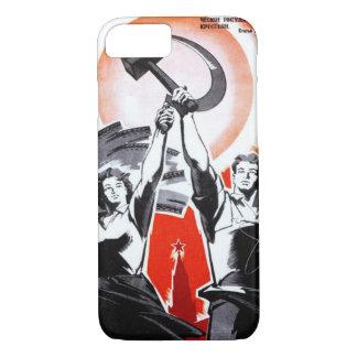 Russian Vintage Propaganda iPhone 7 Case