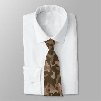 Russian Woodland Brown Camo Tie