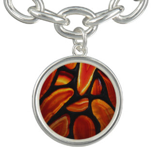 Rust Agate Bracelet