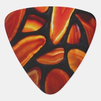 Rust Agate Pick