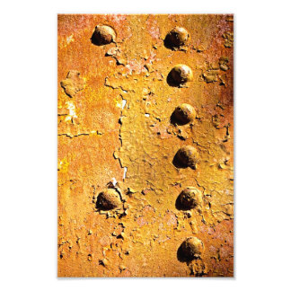 rust and peel photographic print