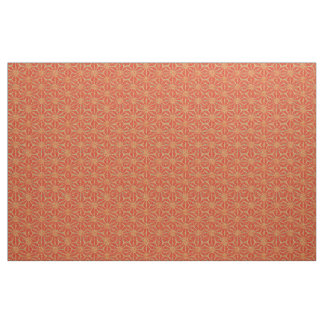 Rust Burnt Sienna Pinwheel 4Jermaine Fabric