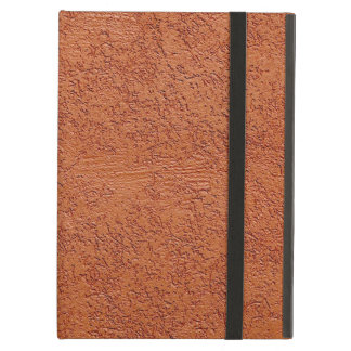 RUST COLORED STUCCO COVER FOR iPad AIR