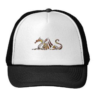 Rust Dragon Trucker Hat