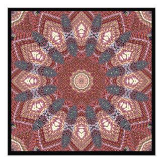 Rust Knit Star Photograph