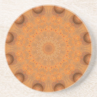 Rust-Mandala, Colors of Rust_843_2 Drink Coaster