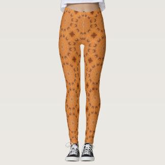 Rust-Mandala, Colors of Rust_843_2 Leggings