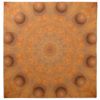 Rust-Mandala, Colors of Rust_843_2 Napkin