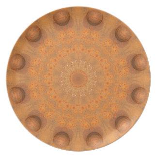 Rust-Mandala, Colors of Rust_843_2 Plate