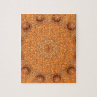 Rust-Mandala, Colors of Rust_843_2 Puzzle
