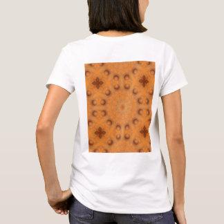 Rust-Mandala, Colors of Rust_843_2 T-Shirt
