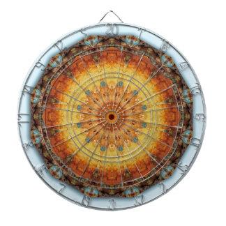 Rust-Mandala, Colors of Rust Dartboards