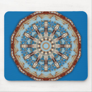 Rust-Mandala, Colors of Rust Mouse Pad